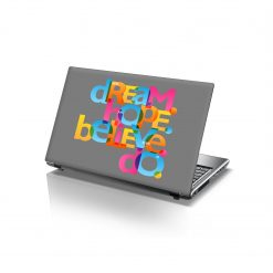 laptop skins dream hope believe do
