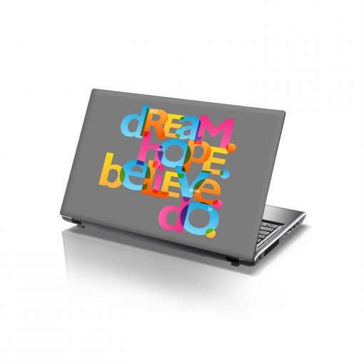 laptop skins dream hope believe do
