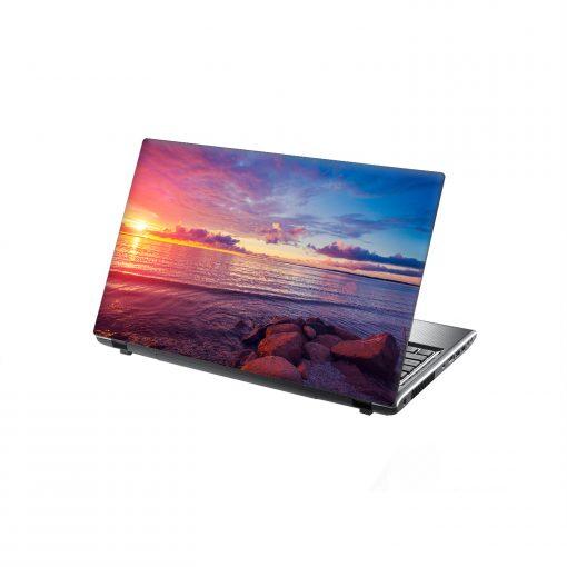 Laptop skin ocean sunset